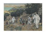 Jesus Heals the Blind and Lame on the Mountain from 'The Life of Our Lord Jesus Christ' Giclee Print by James Jacques Joseph Tissot