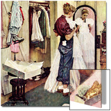 """Prom Dress"", March 19,1949 Prints by Norman Rockwell"