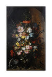 Large Flower Still Life with Crown Imperial, 1624 Giclee Print by Roelandt Jacobsz. Savery