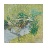 The White Bridge, C.1895 Giclee Print by John Henry Twachtman