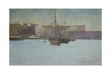 Dieppe Harbour, France, C.1885 Giclee Print by Walter Richard Sickert