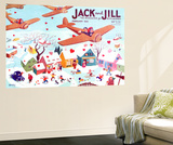 Valentine's  - Jack and Jill, February 1941 Reproduction murale par Michael Berry