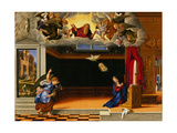 The Annunciation, C.1540 Giclee Print by Girolamo da Santacroce