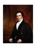 Portrait of Ashfield Ellis, C.1835 Giclee Print by Samuel Lovett Waldo