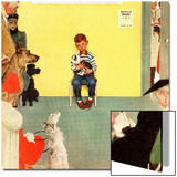 """At the Vets"", March 29,1952 Prints by Norman Rockwell"