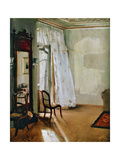 The Bedroom, 1845 Giclee Print by Adolph Friedrich Erdmann von Menzel