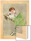 """Diary"", June 17,1933 Wood Print by Norman Rockwell"
