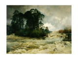 Mid the Wild Music of the Glen, 1888 Giclee Print by Niels Moller Lund