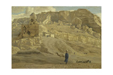 The Mokattam from the Citadel of Cairo from 'The Life of Our Lord Jesus Christ' Giclee Print by James Jacques Joseph Tissot