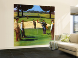 """""""Sand Trap,"""" July 3, 1948 Wall Mural – Large by John Falter"""