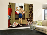 """""""Young Charles Atlas"""", November 29, 1952 Wall Mural – Large by George Hughes"""