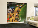 """Golf Driving Range"", July 26, 1952 Wall Mural – Large by John Falter"