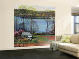 """""""Ohio River in April,"""" April 15, 1961 Wall Mural – Large by John Clymer"""