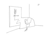New Yorker Cartoon Premium Giclee Print by Saul Steinberg