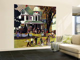 """Family Reunion,"" October 20, 1945 Wall Mural – Large by John Falter"