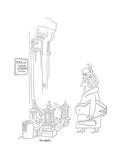 New Yorker Cartoon Premium Giclee Print by Saul Steinberg