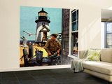 """""""Lighthouse Keeper"""", June 26, 1954 Wall Mural – Large by Stevan Dohanos"""