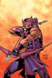 Hawkeye No.5 Cover: Hawkeye Posters by Carlos Pacheco