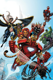 Marvel Adventures The Avengers No.38 Cover: Iron Man Posters by Casey Jones