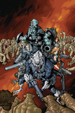 Nick Furys Howling Commandos No.4 Cover: Warwolf Posters by Eric Canete