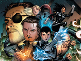 Secret Warriors No.1 Cover: Nick Fury, Slingshot, Quake, Hellfire and Stonewall Print by Jim Cheung
