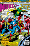 Giant-Size Avengers No.1 Group: Iron Man, Captain America, Thor, Vision and Scarlet Witch Posters by Rich Buckler