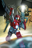 Ultimate Iron Man II No.5 Cover: Iron Man Print by Pasqual Ferry