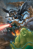 Avengers: Earths Mightiest Heroes No.3 Group: Black Knight Posters by Scott Kolins