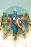 Captain America Theater of War: To Soldier On No.1 Cover: Captain America Photo by Phil Noto
