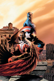 Captain America & The Falcon No.5 Cover: Captain America and Falcon Prints by Steve Epting