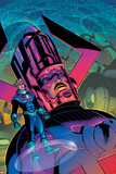 Fantastic Four No.520 Cover: Galactus, Human Torch, Storm and Johnny Posters by Greg Land