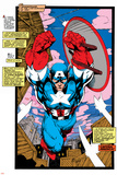 Uncanny X-Men No.268 Cover: Captain America Posters por Jim Lee