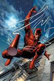 Daredevil No.65 Cover: Daredevil Posters af Greg Land