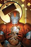 Invincible Iron Man No.19 Cover: Iron Patriot Posters by Salvador Larroca