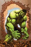 John Barber - Marvel Age Hulk No.3 Cover: Hulk Obrazy