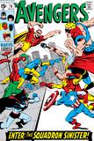 Avengers No.70 Cover: Hyperion Affiches par Sal Buscema