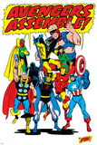 Avengers No.71 Group: Goliath Prints by Sal Buscema