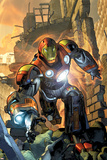 Ultimate Comics Armor Wars No.1 Cover: Iron Man Posters by Brandon Peterson