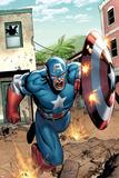 Marvel Adventures Super Heroes No.8 Cover: Captain America Fotografia por Clayton Henry