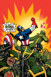 Captain America V4, No.29 Cover: Captain America Prints by Dave Johnson