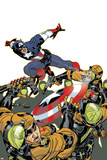 Captain America V4, No.26 Cover: Captain America Photo by Dave Johnson