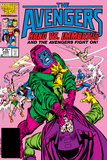Avengers No.269 Cover: Kang and Immortus Fighting Prints by John Buscema