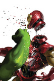The Invincible Iron Man 19 Cover: Hulk and Iron Man Photo