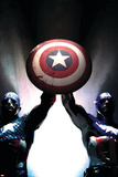 Captain America Reborn: Who will weild the shield Cover: Captain America Posters by Gerald Parel
