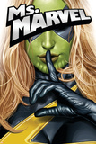 Ms. Marvel No.25 Cover: Ms. Marvel Posters av Greg Horn