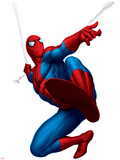 Spider-Man Swinging Print