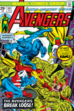 Avengers No.143 Cover: Beast, Captain America, Iron Man, Vision and Avengers Posters by George Perez