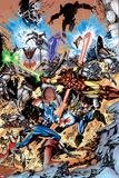Avengers No.99 Annual Cover: Captain America, Thor, Iron Man, Wonder Man and Avengers Prints by Leonardo Manco