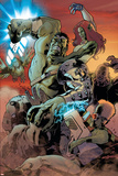 World War Hulk: Gamma Corps No.3 Cover: Hulk Posters by Stephane Roux