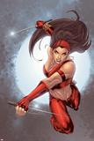 Ultimate Elektra No.5 Cover: Elektra Poster af Salvador Larroca
